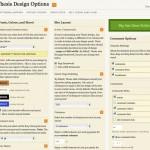 Die Design-Optionen des Thesis Themes