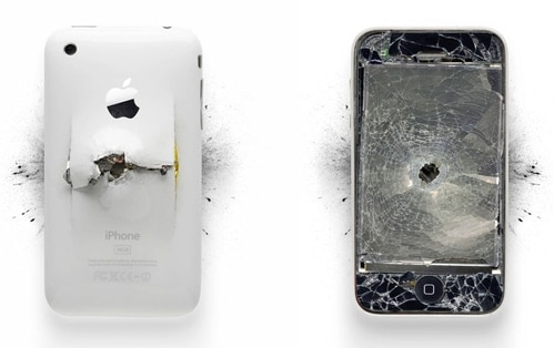 Zerstörte Apple Produkte