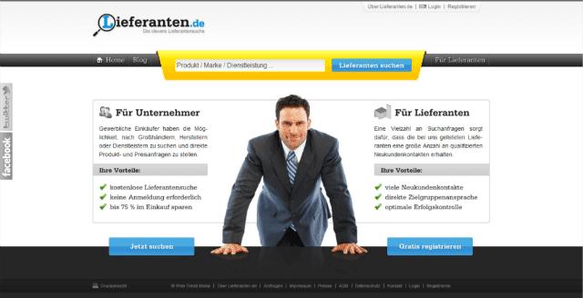 Lieferanten.de Startseite