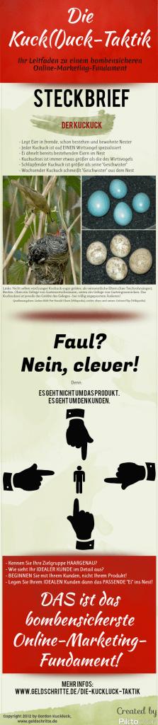Die Kuckluck-Taktik Infografik
