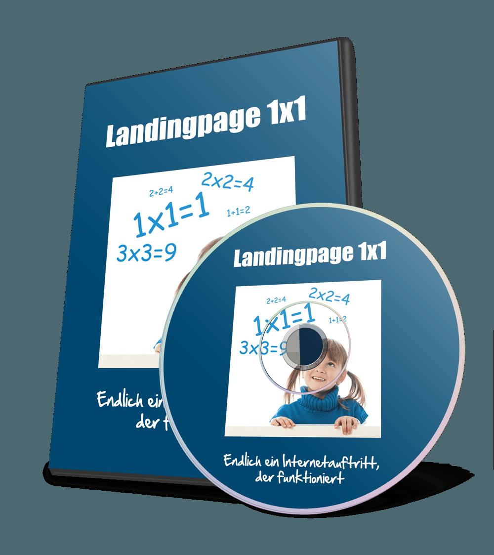 Landingpage 1x1 Videokurs