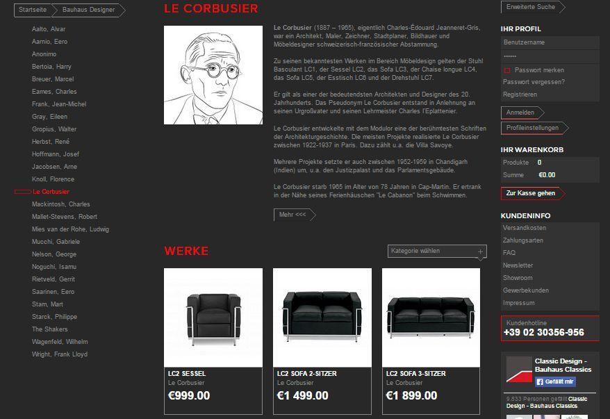 bauhaus m bel landing page online marketing. Black Bedroom Furniture Sets. Home Design Ideas