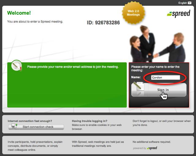 GeldSchritte-Webinar mit Spreed - Schritt 1
